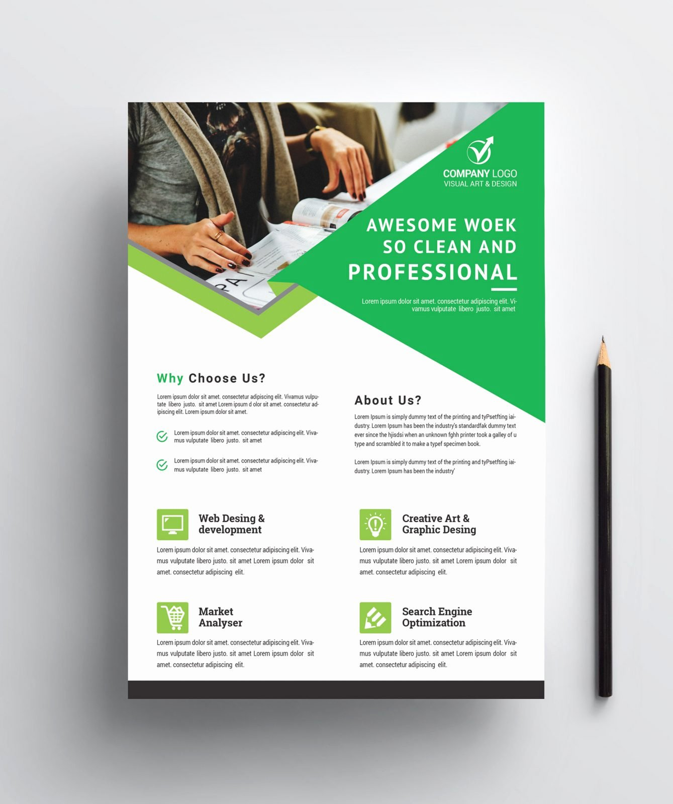 Business Flyer Templates Free New Professional Business Flyer Design Template Catalog