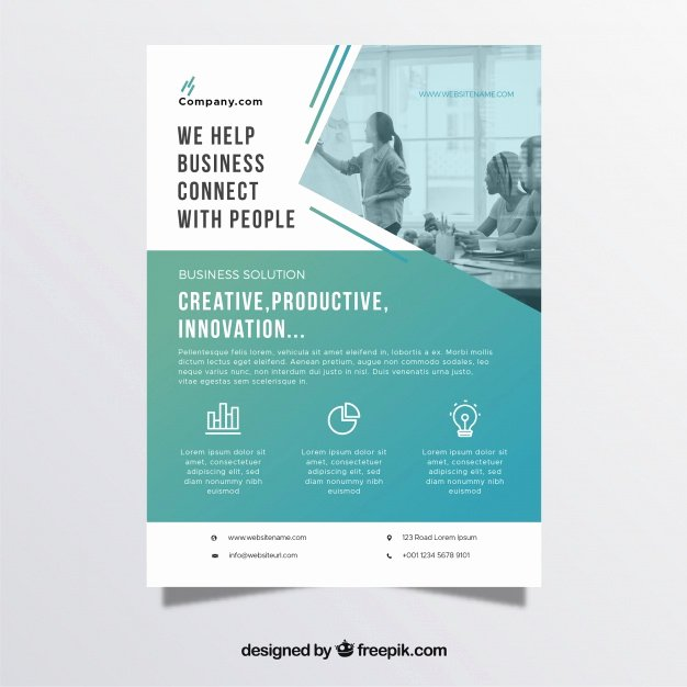 Business Flyer Templates Free New Professional Business Flyer Template Vector