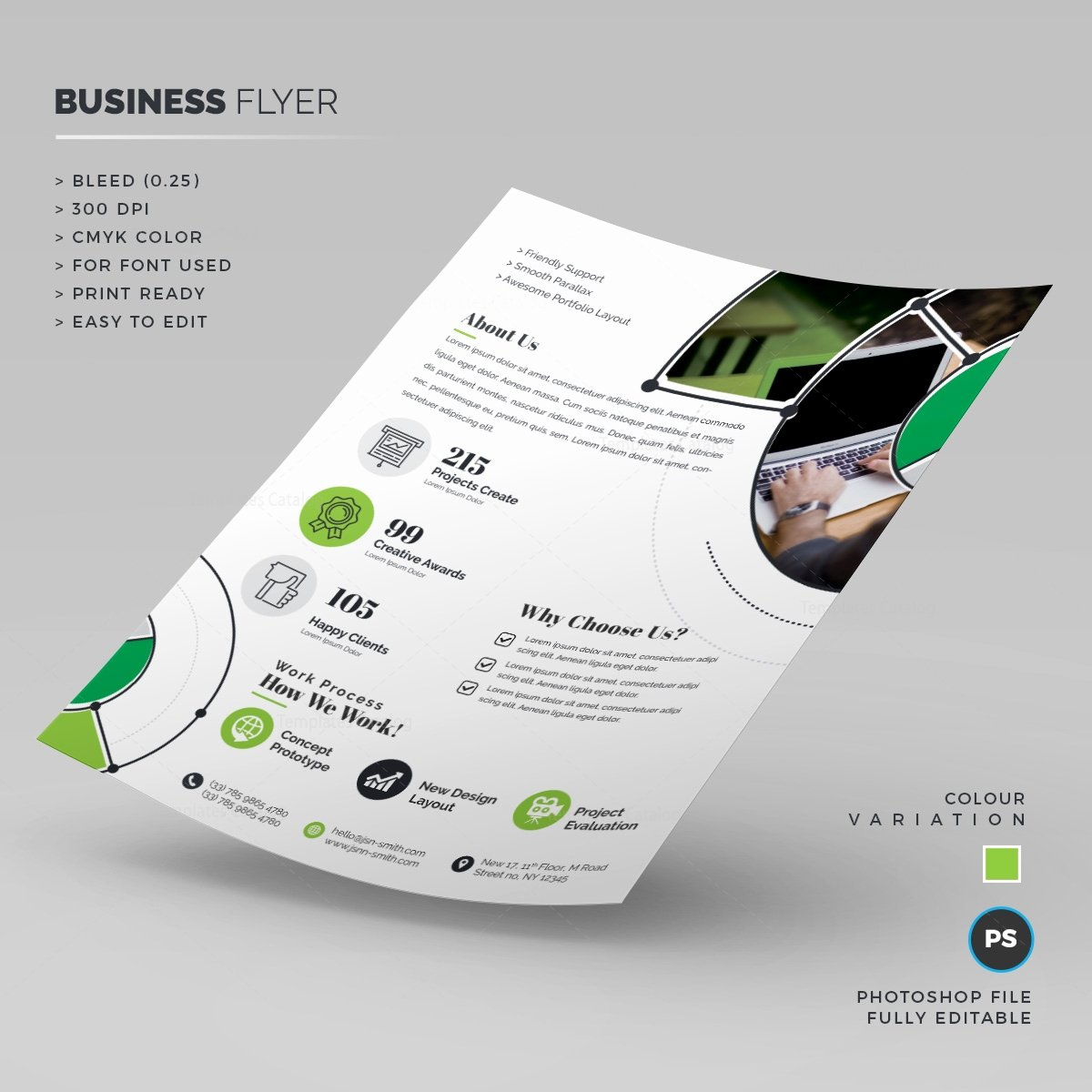 Business Flyers Template Free Elegant Print Ready Business Flyer Template Template Catalog