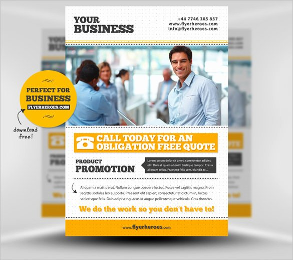 Business Flyers Template Free Inspirational 25 Fabulous Free Business Flyer Templates Indesign
