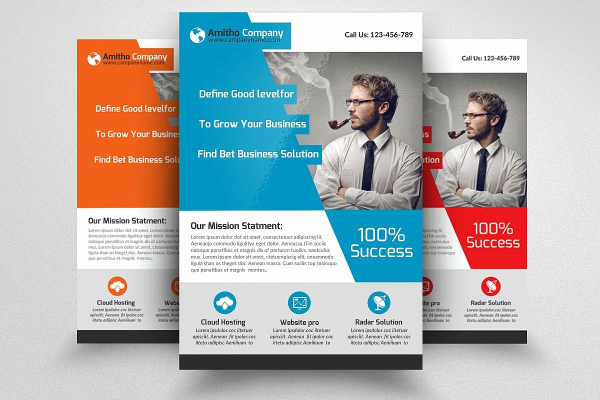 Business Flyers Template Free New Business Flyers Templates