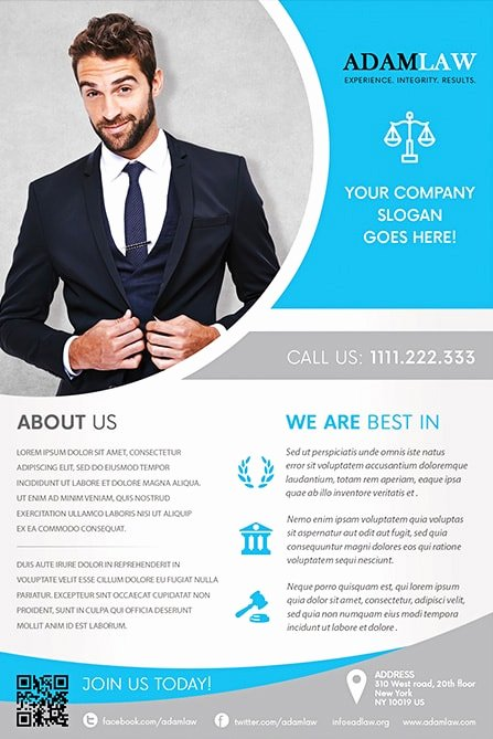 Business Flyers Template Free New Lawyer Service Free Flyer Template