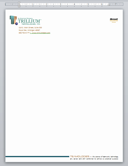Business Letterhead Template Word Awesome Word Document Business Letterhead Template
