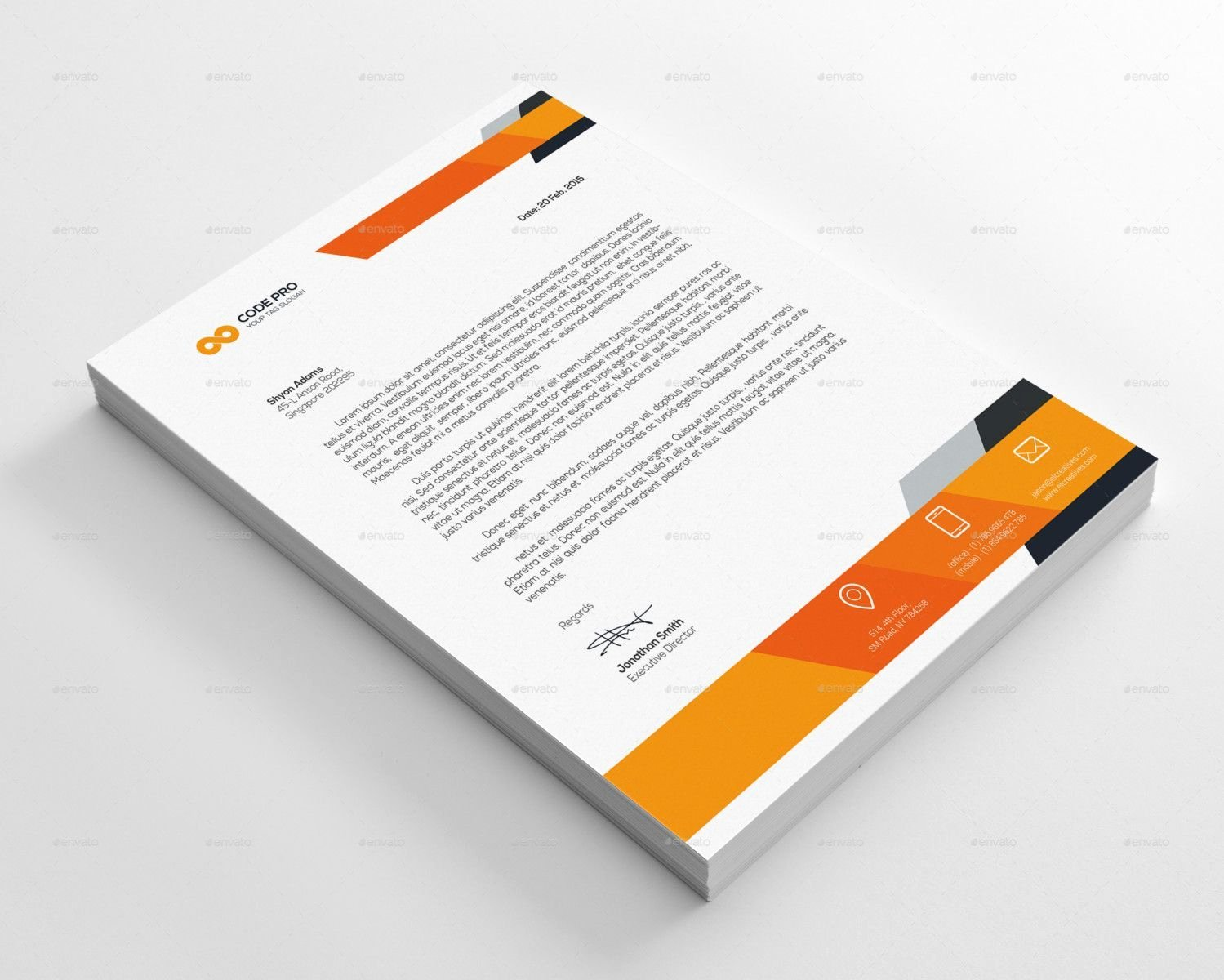 Business Letterhead Template Word Beautiful Free Business Letterhead Templates for Word – Business