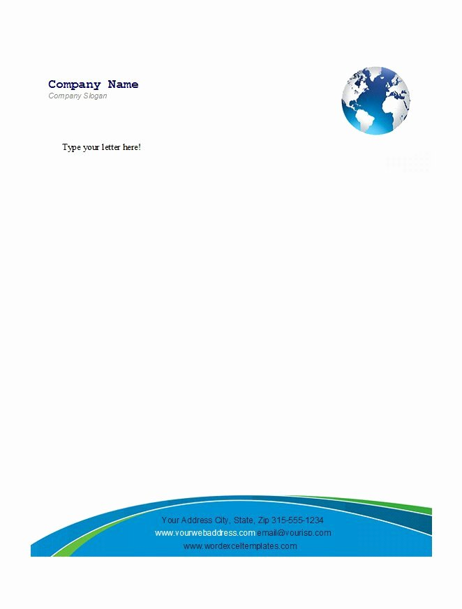 Business Letterhead Template Word Fresh 46 Free Letterhead Templates & Examples Free Template