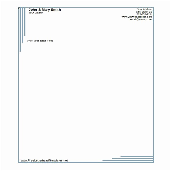 Business Letterhead Template Word Lovely 32 Free Download Letterhead Templates In Microsoft Word