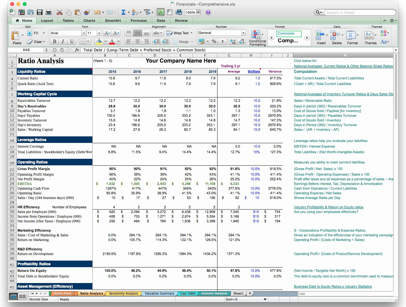 Business Plan Template Excel Luxury Business Plan Financial Model Template Bizplanbuilder