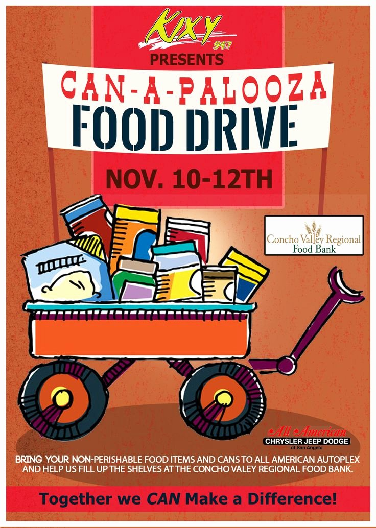Can Food Drive Flyer Luxury 9 Best Canned Food Drive Images On Pinterest