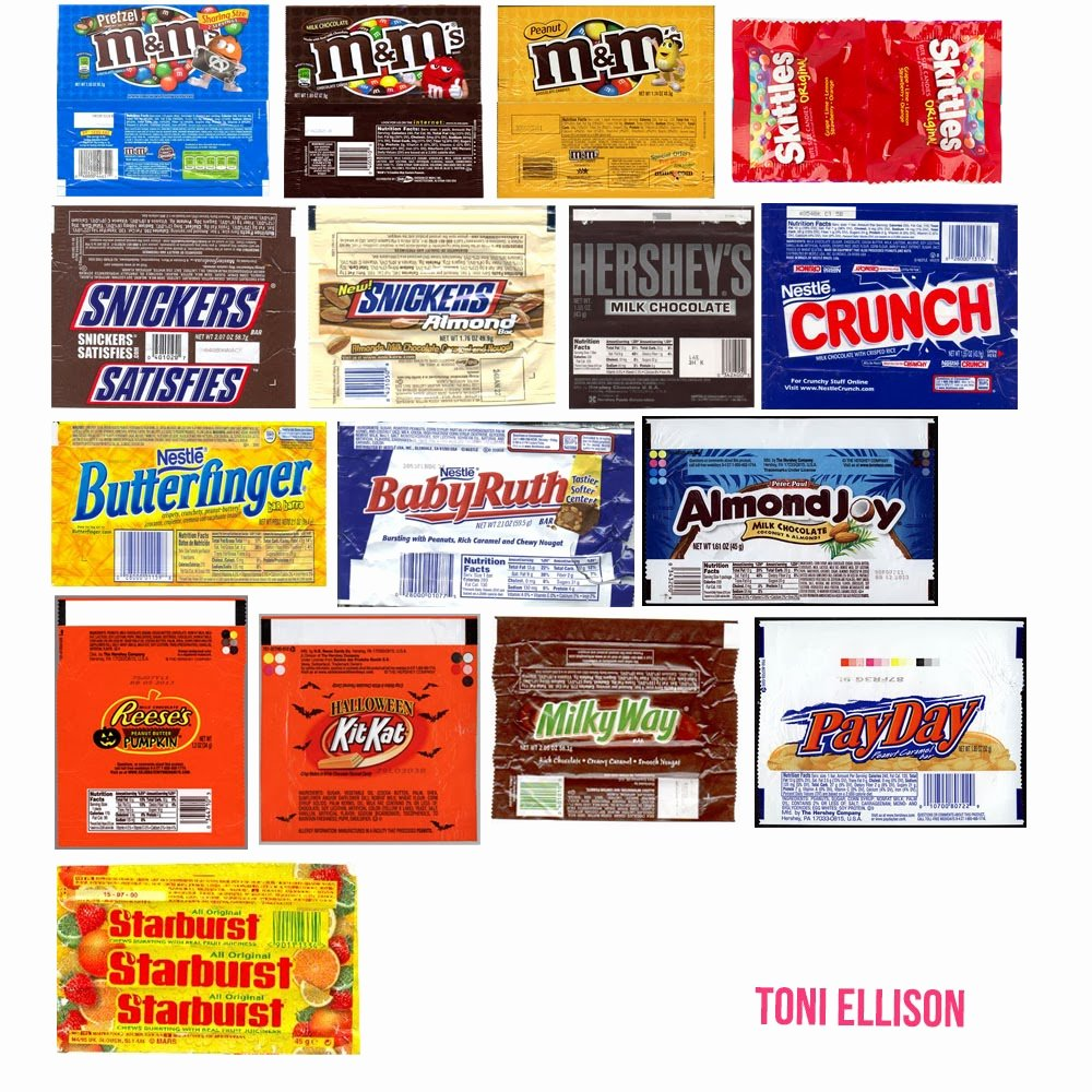 Candy Bar Wrapper Template Fresh toni Ellison Halloween Candy Wrapper Templates