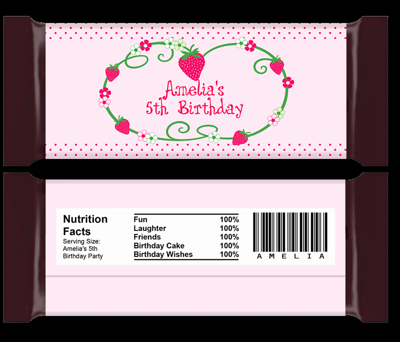 Candy Bar Wrapper Template Luxury Diy Candy Bar Wrapper Templates Party Favors