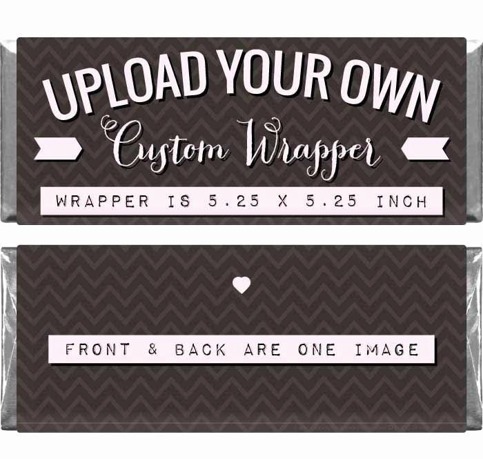 Candy Bar Wrapper Template Unique Custom Wrapper for 1 55 Oz Candy Bars