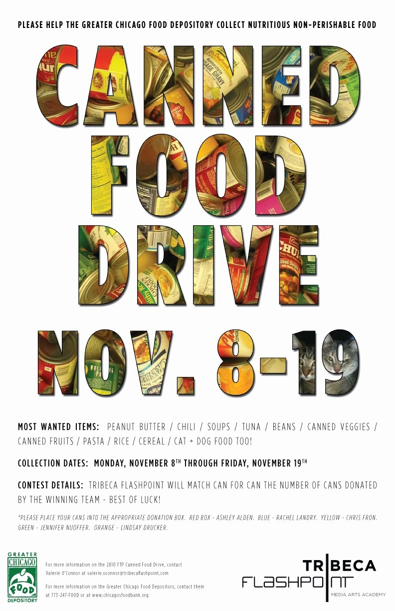 Canned Food Drive Flyer Awesome Foggyland A Blog From Subeternal Design Canned Food