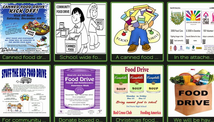 Canned Food Drive Flyer Best Of 5 Canned Food Drive Flyer Templates