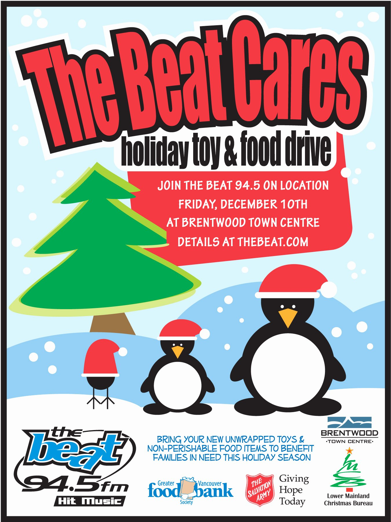 Canned Food Drive Flyer Best Of the Beat Cares Holiday toy and Food Drive British