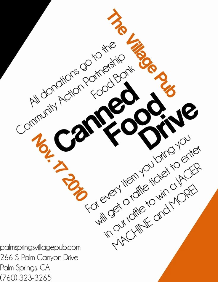 Canned Food Drive Flyer Unique 16 Best Food Drive Posters Images On Pinterest
