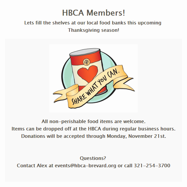 Canned Food Drive Flyer Unique Thanksgiving Canned Food Drive at Hbca