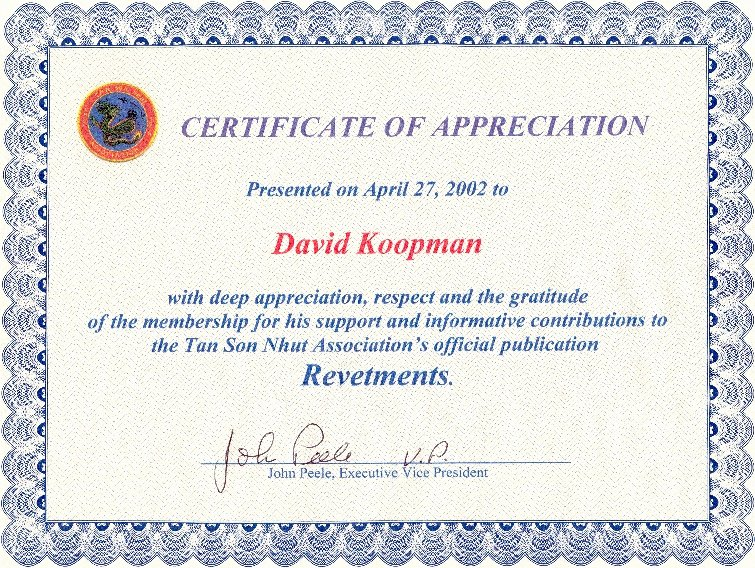 Certificate Of Appreciation Wording Beautiful My Medals Ribbons and Awards