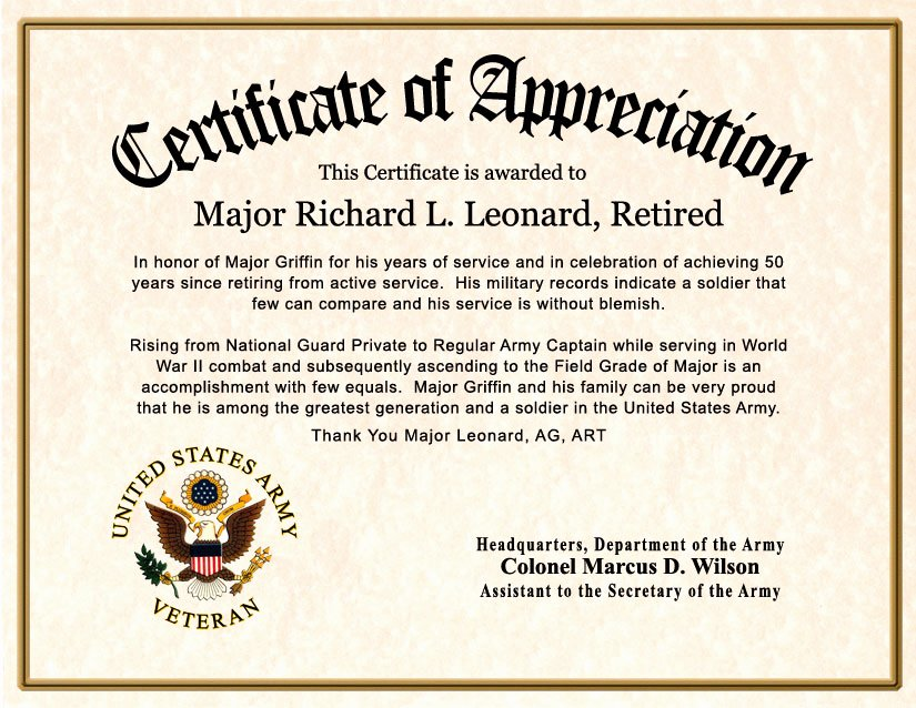 Certificate Of Appreciation Wording Best Of Free Customizable Certificates