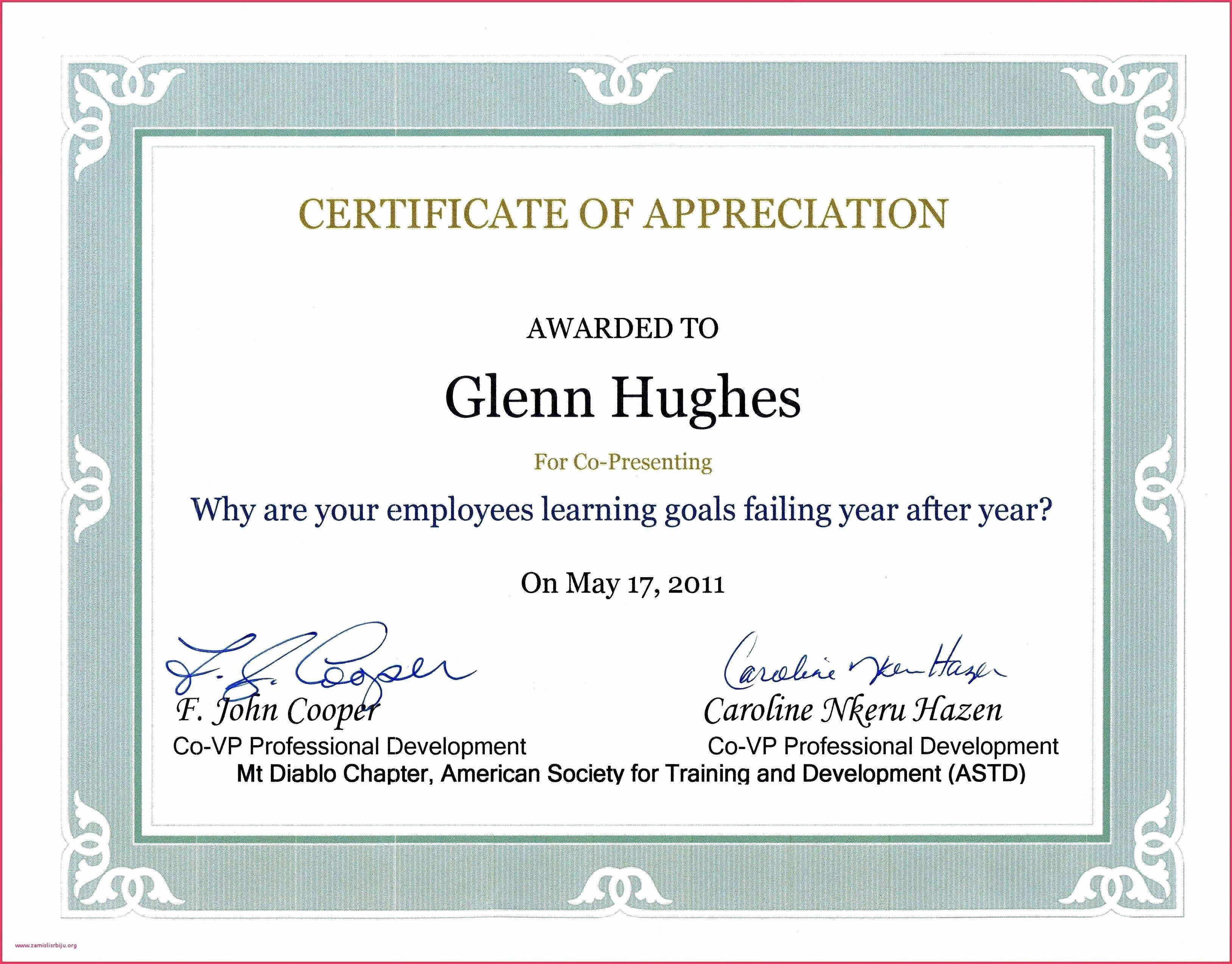 Certificate Of Appreciation Wording Best Of Sample Wording Certificate Appreciation Guest Speaker