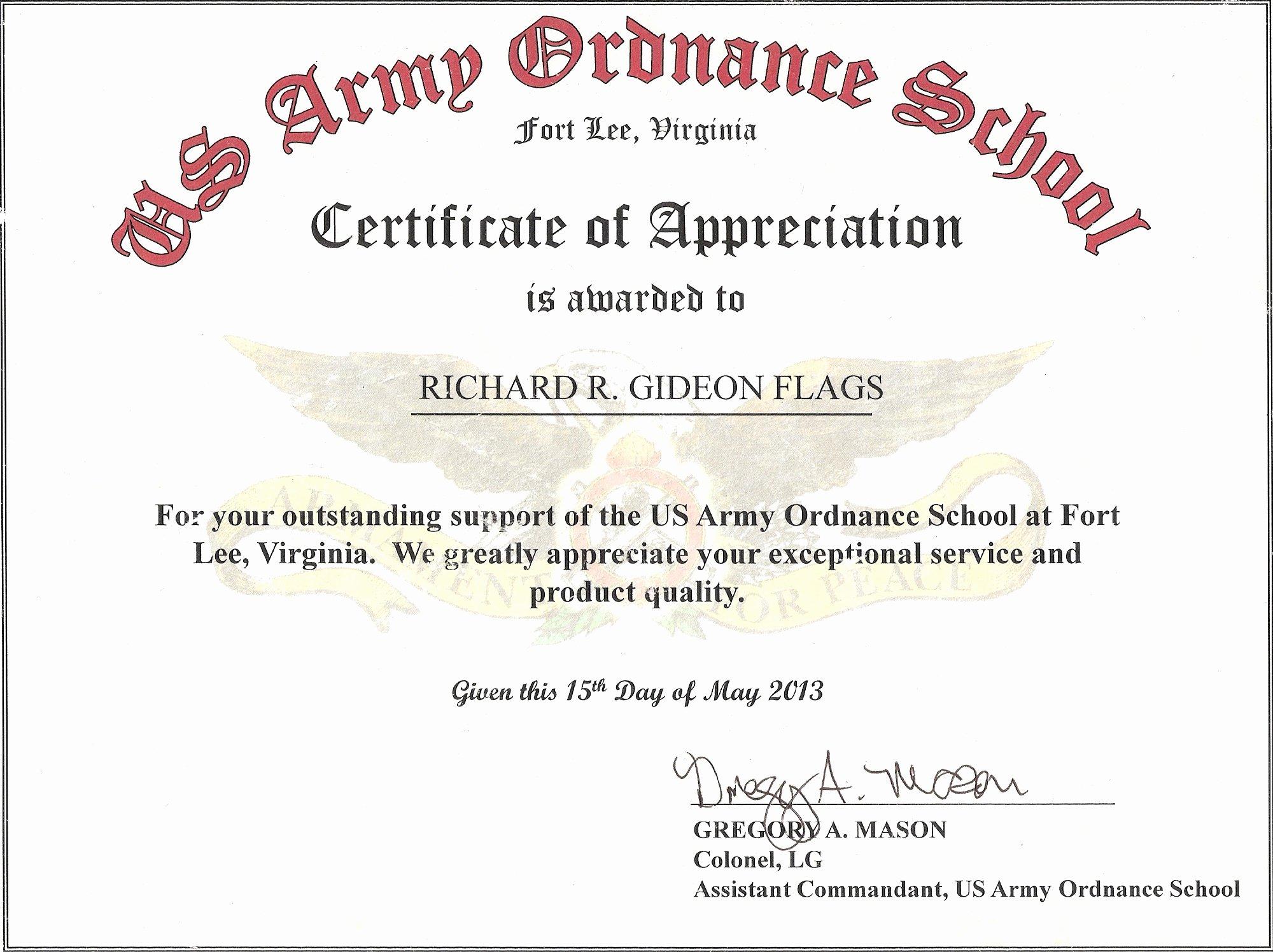 Certificate Of Appreciation Wording Luxury Certificate Appreciation Quotes Quotesgram