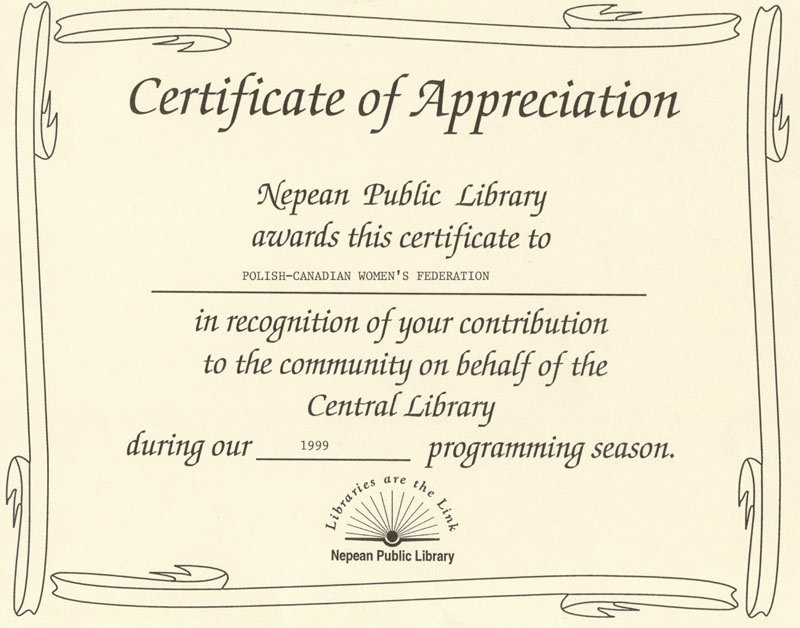 Certificate Of Appreciation Wording New Certificate Appreciation Quotes Quotesgram