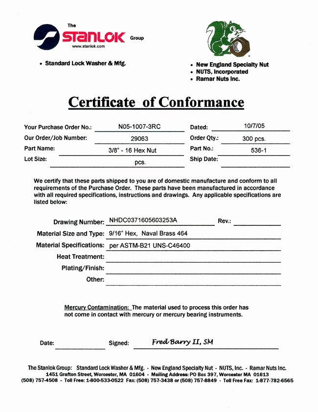 Certificate Of Compliance Template Beautiful Certificate Pliance Template