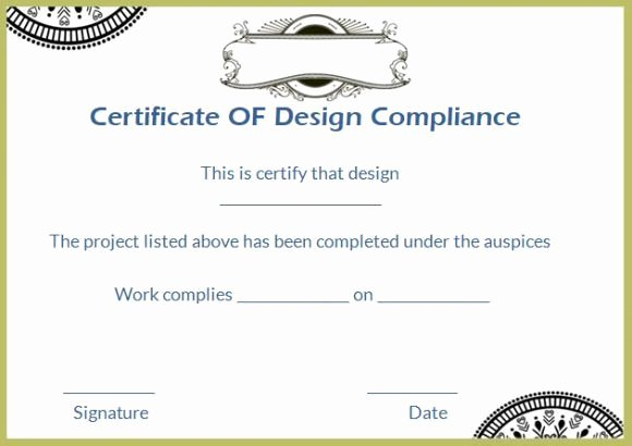 Certificate Of Compliance Template Best Of 16 Best Certificate Of Pliance Images On Pinterest