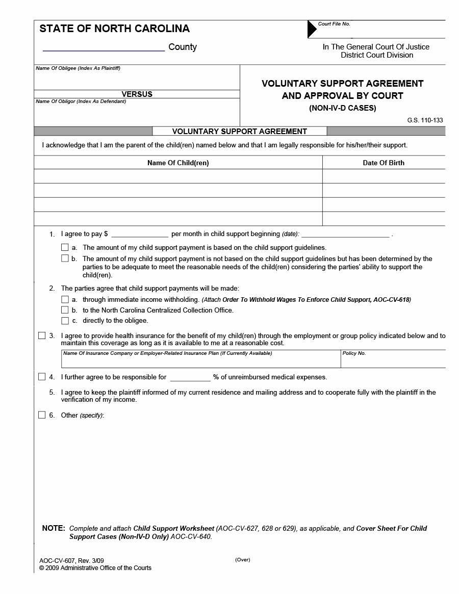 Child Support Agreement Template New 32 Free Child Support Agreement Templates Pdf & Ms Word