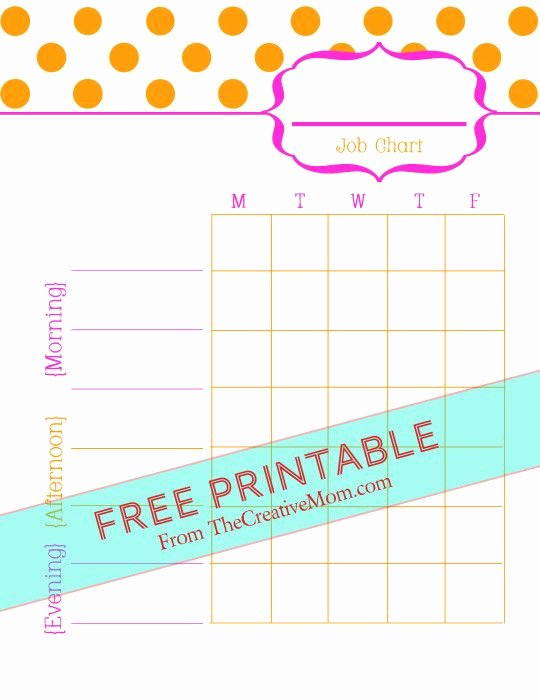 Chore List for Adults Awesome Free Printable Chore Charts for Kids and Adults