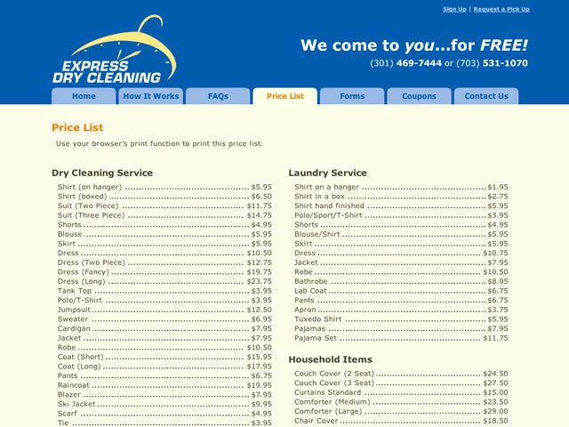 Cleaning Services Price List Template Beautiful Graphic Design Services Price List