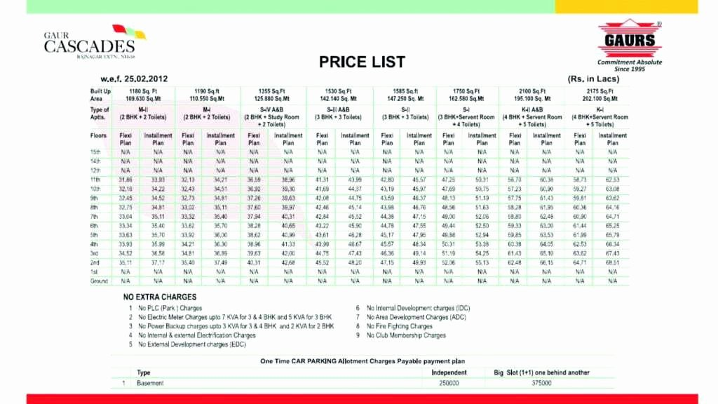 Cleaning Services Price List Template Best Of top 5 Resources to Get Free Price List Templates Word