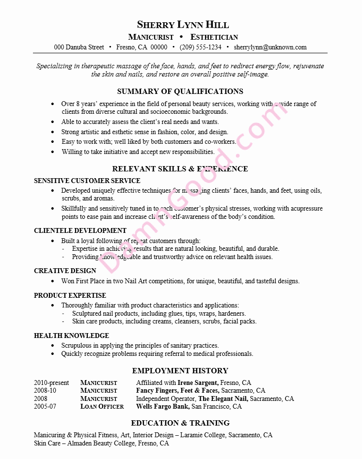 College Graduate Resume Template Unique No College Degree Resume Samples Archives Damn Good