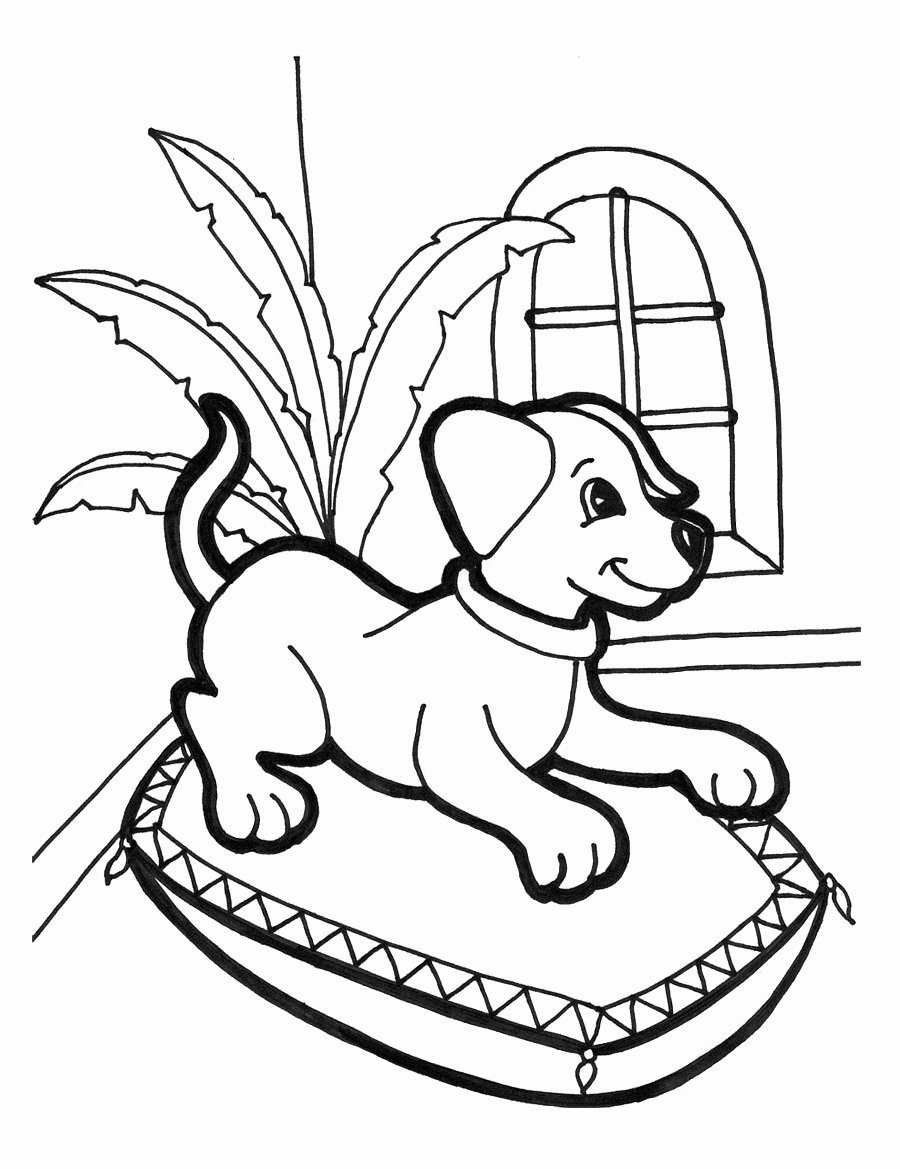 Coloring Pages Of Puppies Awesome Free Printable Puppies Coloring Pages for Kids