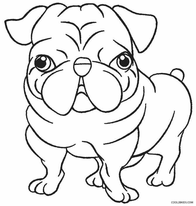 Coloring Pages Of Puppies Beautiful Printable Puppy Coloring Pages for Kids