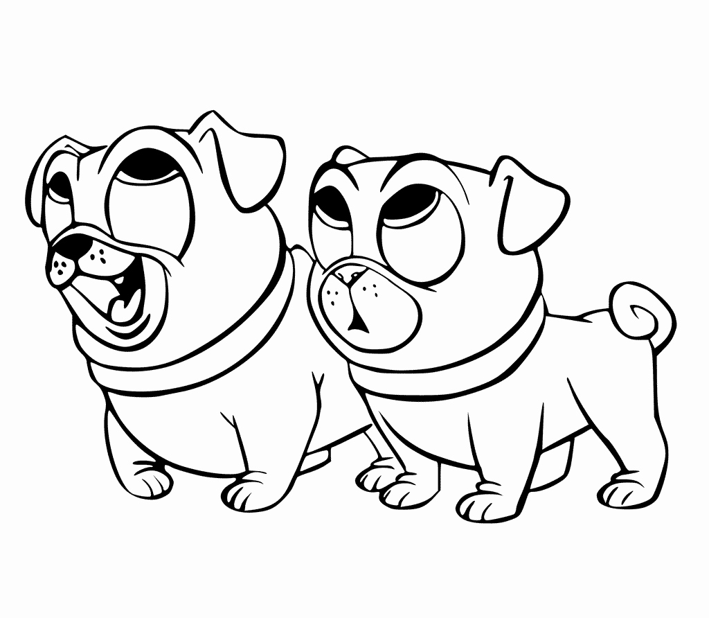 Coloring Pages Of Puppies Best Of Puppy Dog Pals Coloring Pages to Print