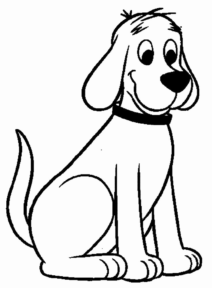 Coloring Pages Of Puppies Elegant Clifford the Big Red Dog Coloring Pages