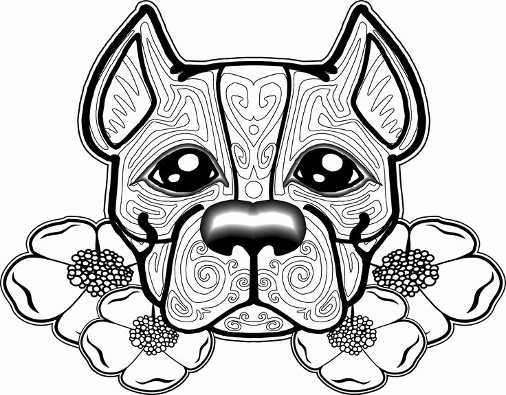 Coloring Pages Of Puppies Elegant Free Dog Coloring Pages for Adults