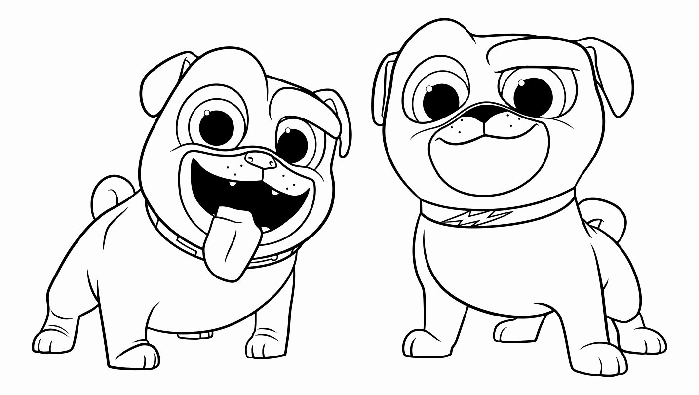Coloring Pages Of Puppies Elegant Puppy Dog Pals Coloring Pages to and Print for Free