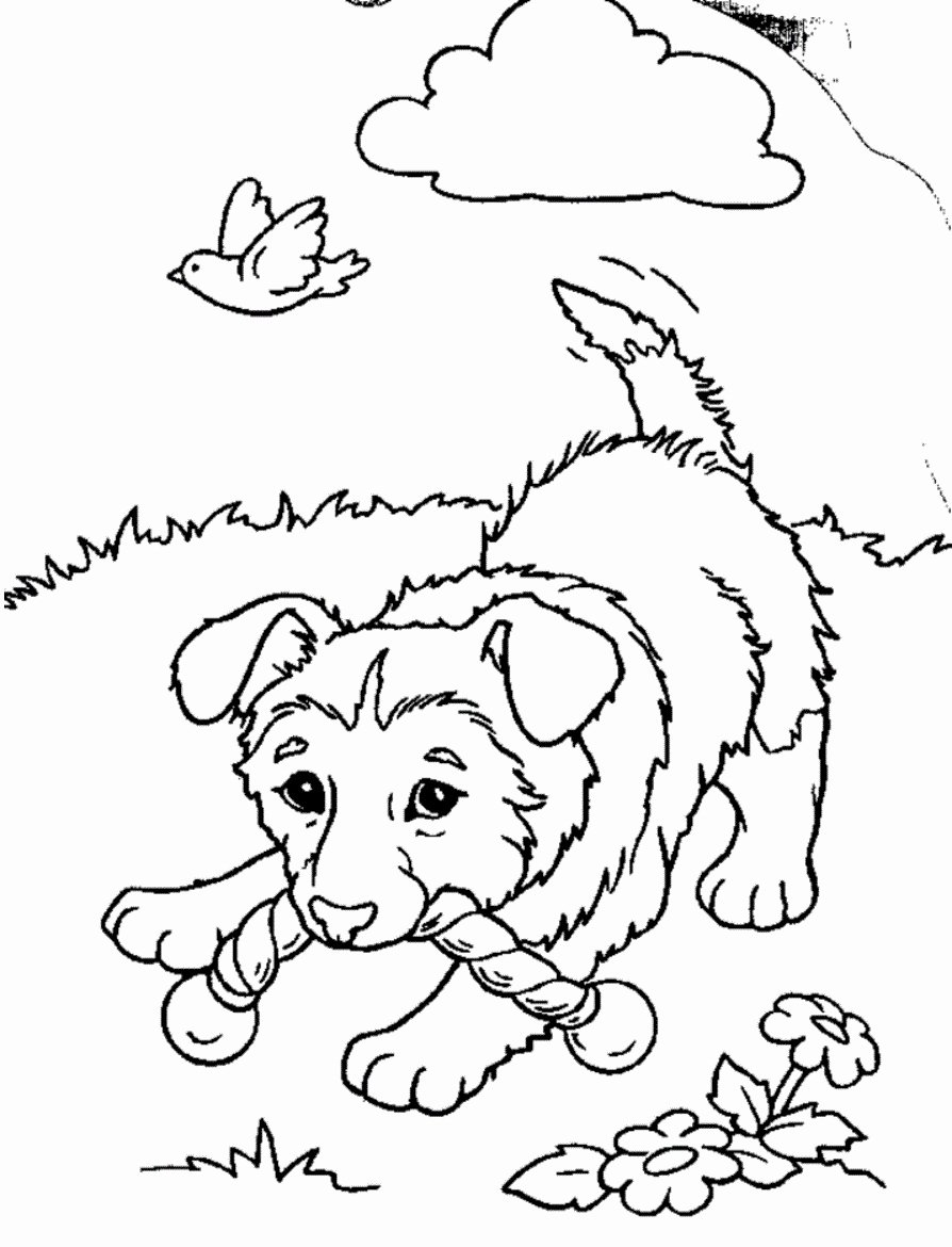Coloring Pages Of Puppies Fresh Free Printable Puppies Coloring Pages for Kids