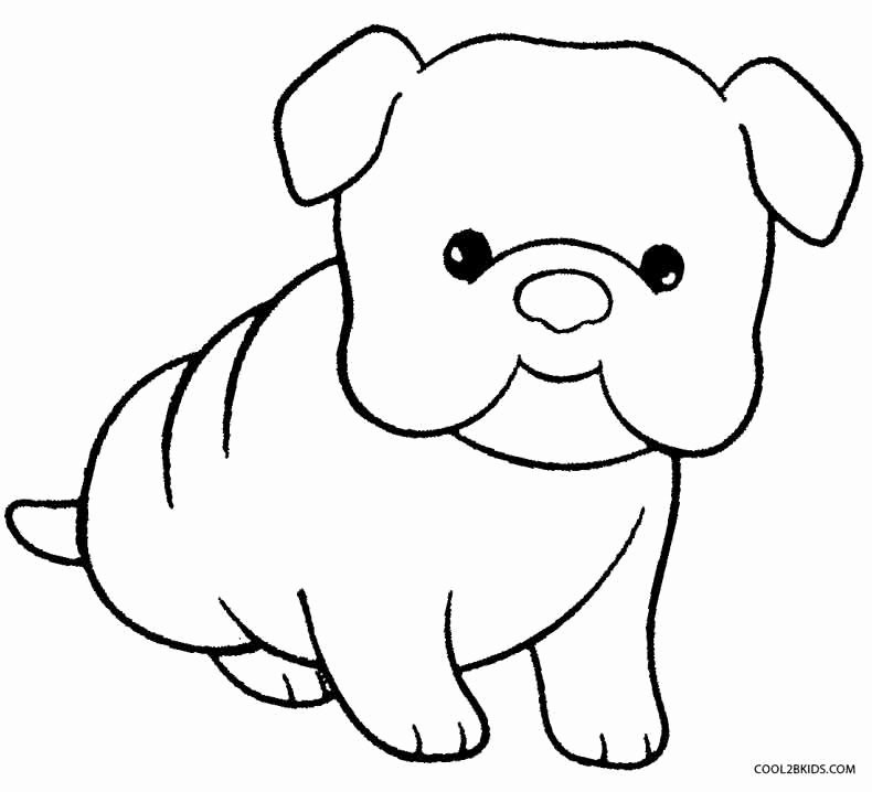 Coloring Pages Of Puppies New Printable Puppy Coloring Pages for Kids