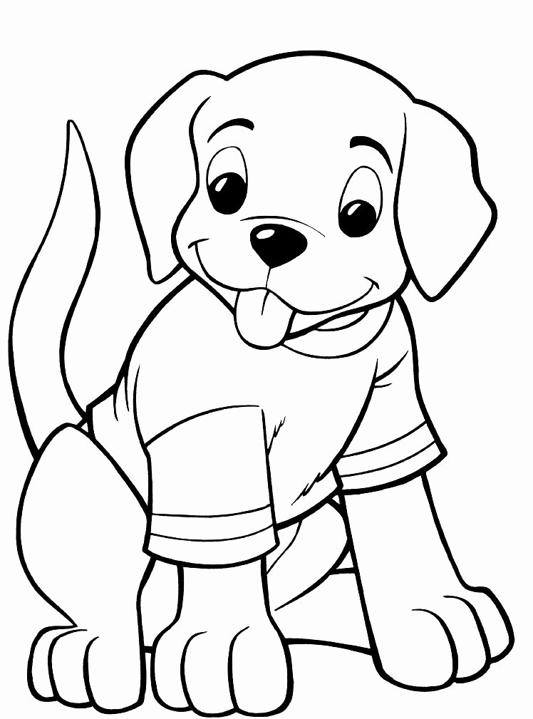 Coloring Pages Of Puppies Unique Print & Download Draw Your Own Puppy Coloring Pages