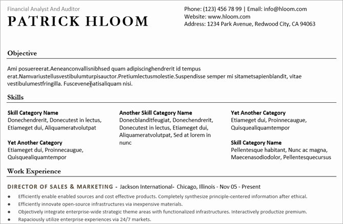 Combination Resume Template Word Luxury 20 Free Resume Templates for Word that Ll Help You Land A Job
