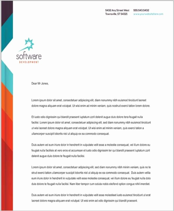 Company Letterhead Template Word Fresh Best 25 Pany Letterhead Ideas On Pinterest