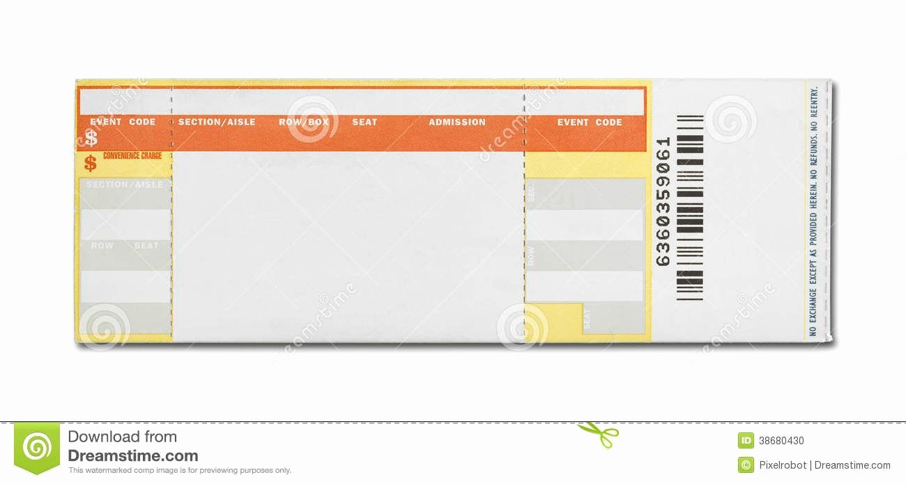 Concert Ticket Template Free Awesome 15 Awesome Ticketmaster Ticket Template Images