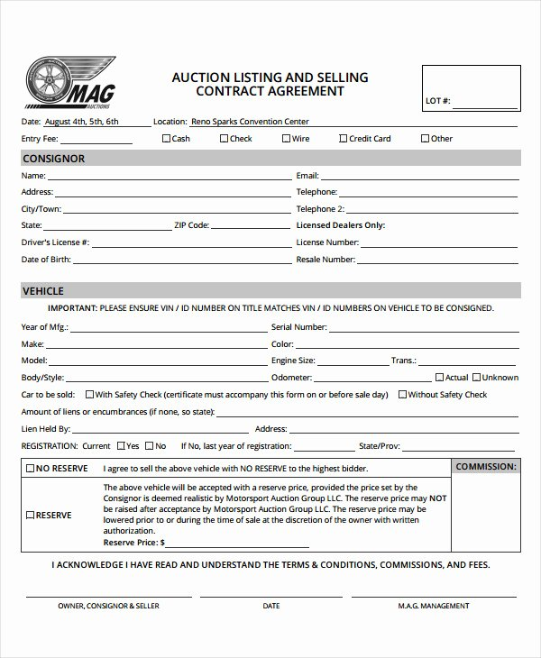 Contract for Selling A Car Elegant 9 Car Selling Contract Examples Pdf Doc