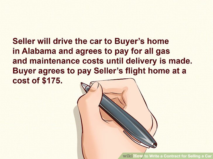 Contract for Selling A Car Elegant Expert Advice On How to Write A Contract for Selling A Car