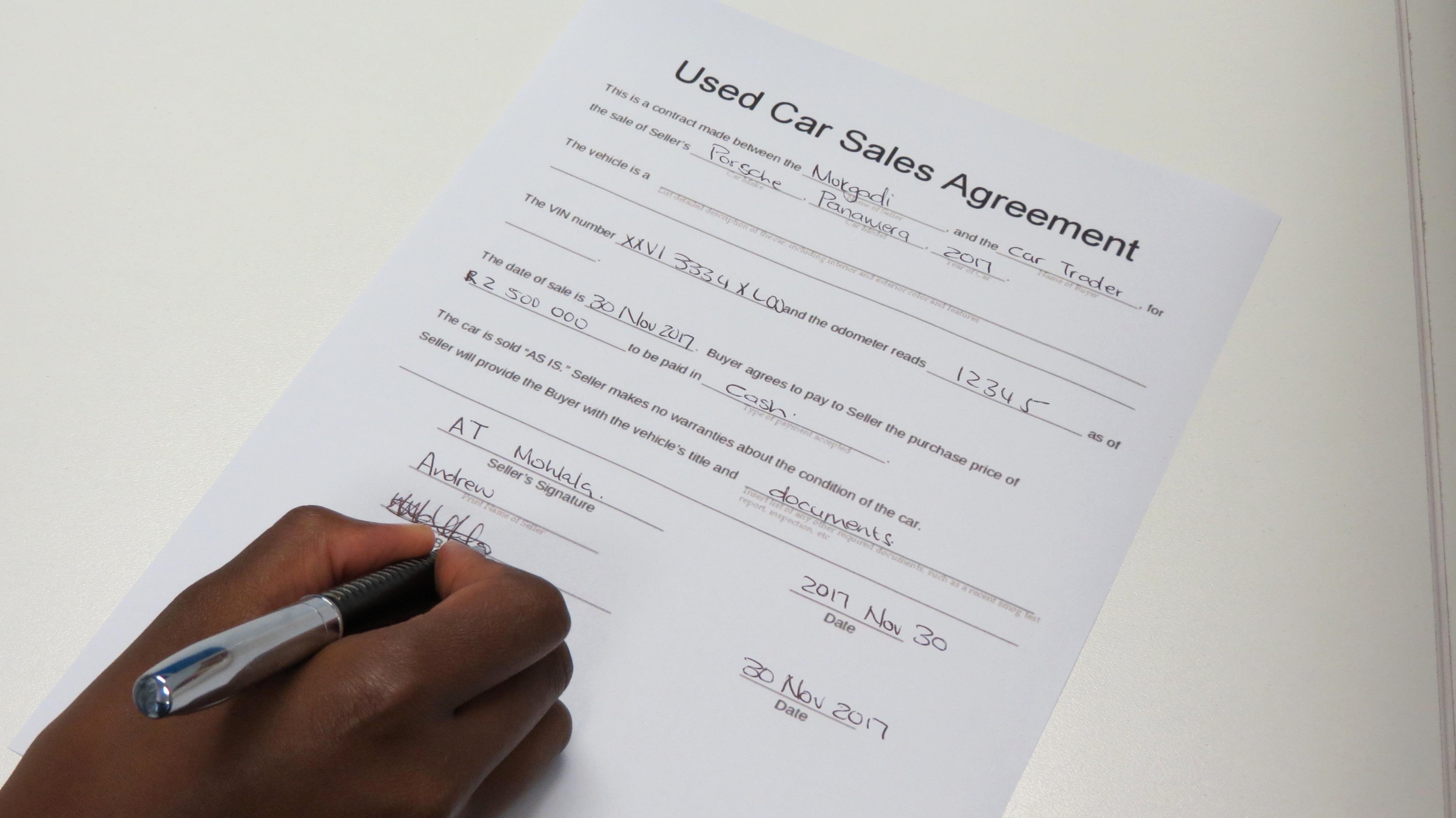 Contract for Selling A Car Elegant What Can Go Wrong when Selling A Car