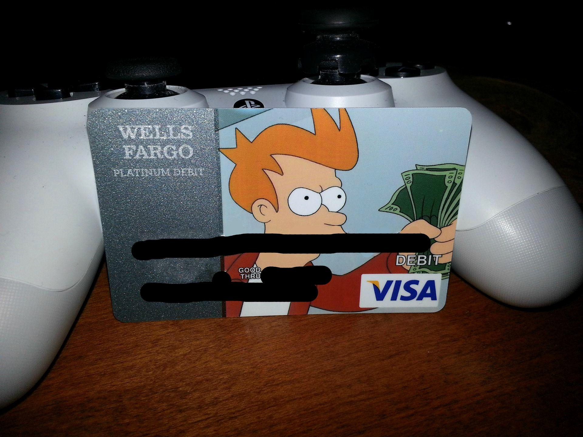 Cool Debit Card Designs Elegant My Bank Finally Accepted My Card Design Funny
