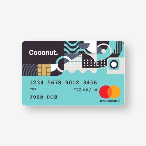 Cool Debit Card Designs Inspirational Coconut Debit Card Design