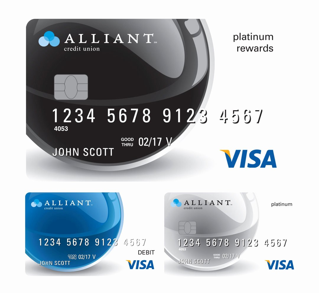 Cool Debit Card Designs Lovely Alliant Credit Union Credit Card Designs the Financial Brand